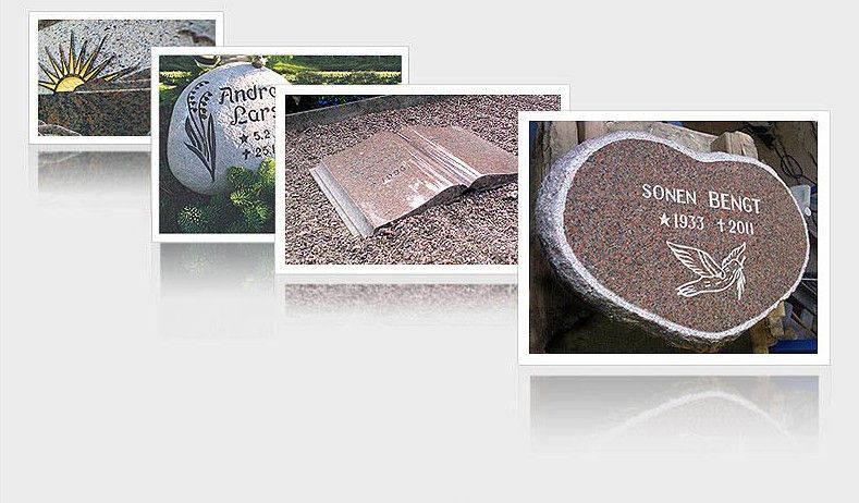 exempel liggande gravsten